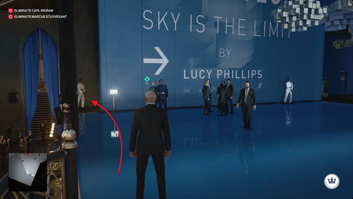 Hitman 3 Dubai On Top Of The World (In)Security Mission Story walkthrough