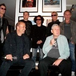Clockwise, from upper left: Glenn Hughes, Shepard Fairey, Roddy Bogawa, Billy Idol, Nic Harcourt, Storm Thurgerson, John Varvatos