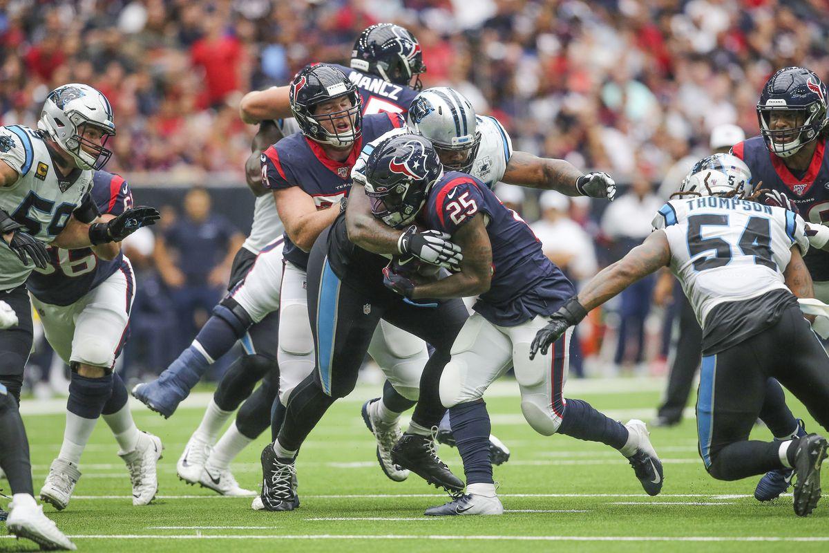 NFL: Carolina Panthers at Houston Texans