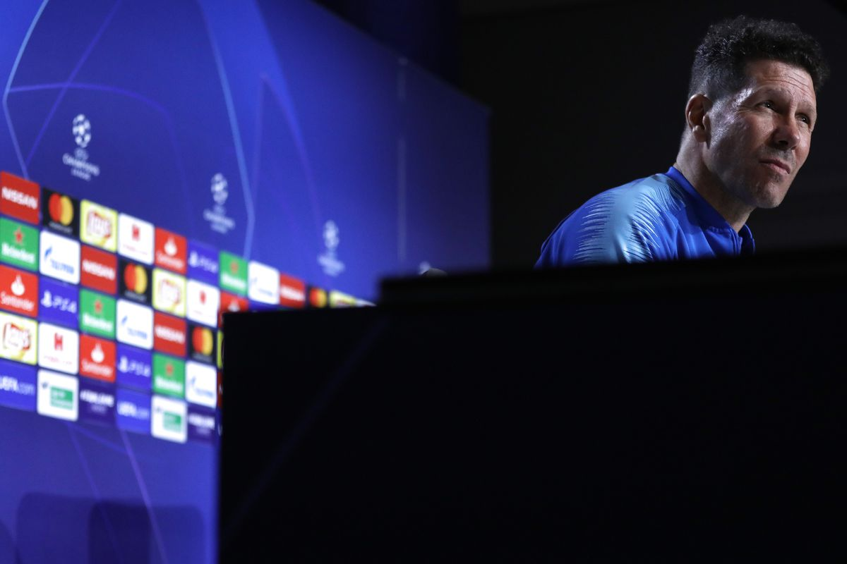 Atletico Madrid Press Conference