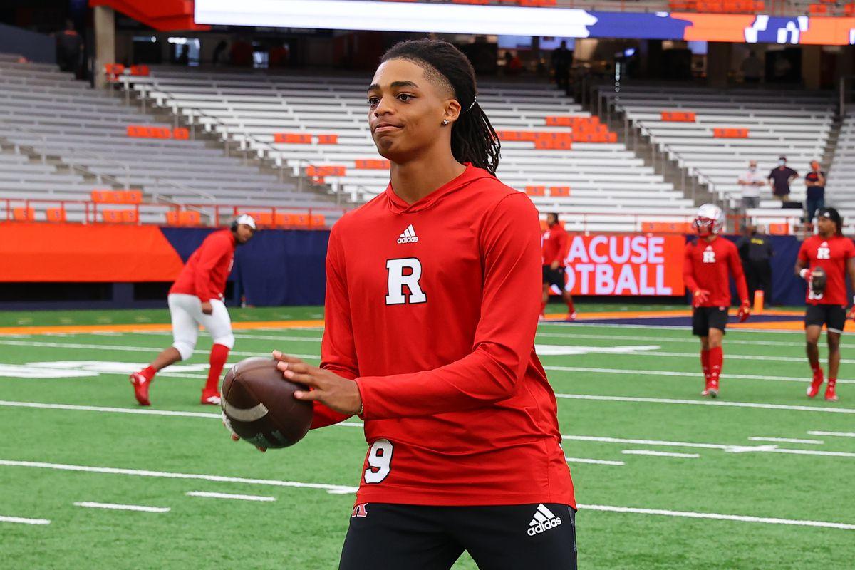 COLLEGE FOOTBALL: SEP 11 Rutgers at Syracuse