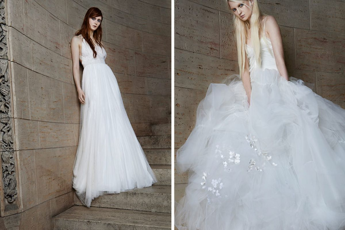 Vera Wang\'s Spring 2015 Bridal Gown Trunk Show is This Week - Racked LA