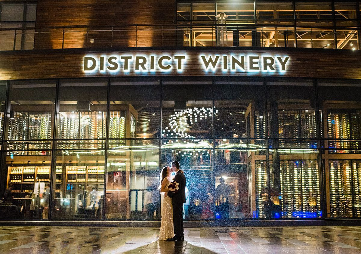 A wedding at District Winery