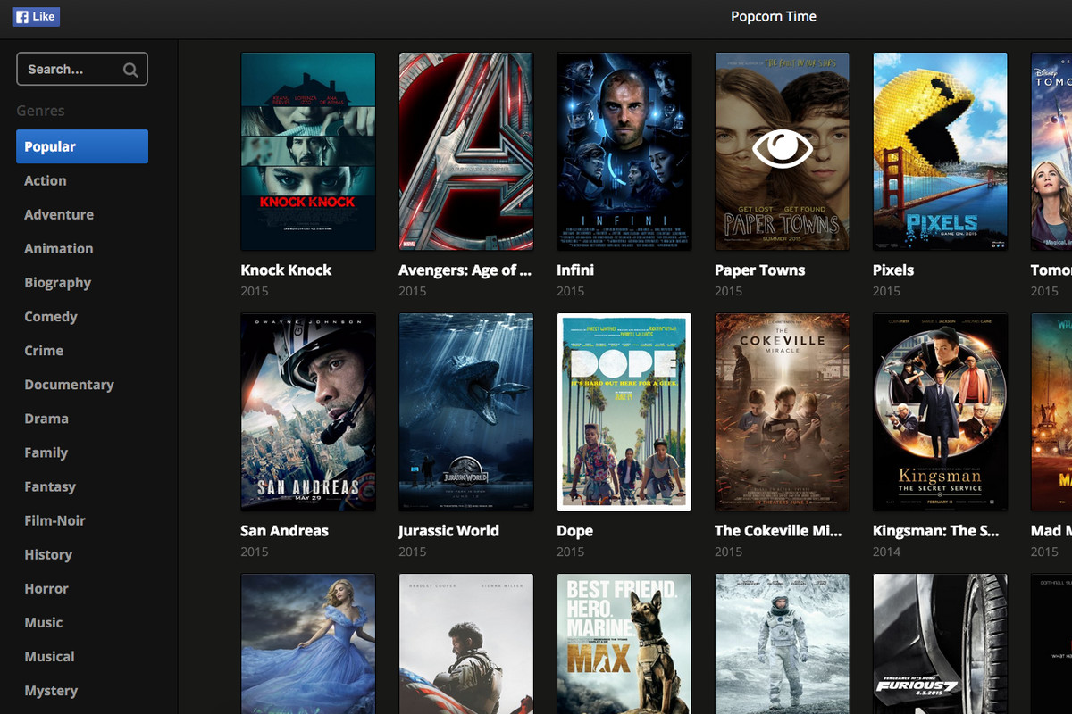 Popcorn Time for your browser makes illegal movie ...