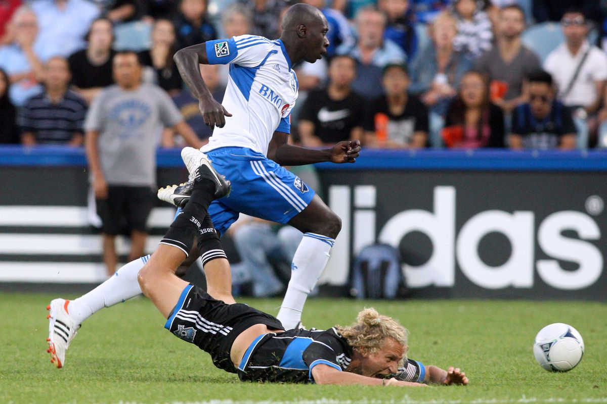 The San Jose Earthquakes were run over by the Montreal Impact
