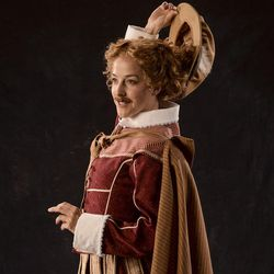 """Betsy Mugavero as Viola de Lesseps (disguised as Master Kent) stars in the Utah Shakespeare Festival's 2017 production of """"Shakespeare in Love."""""""