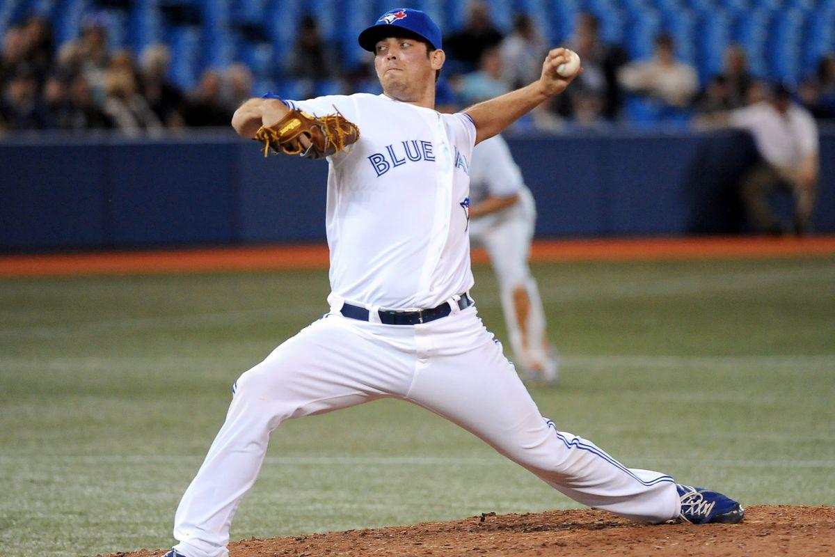 Toronto/Mesa starting pitcher Sean Nolin