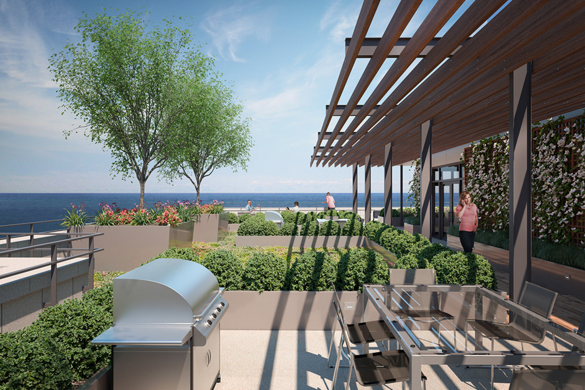 Lakefront apartments planned for Chicago's Gold Coast ...