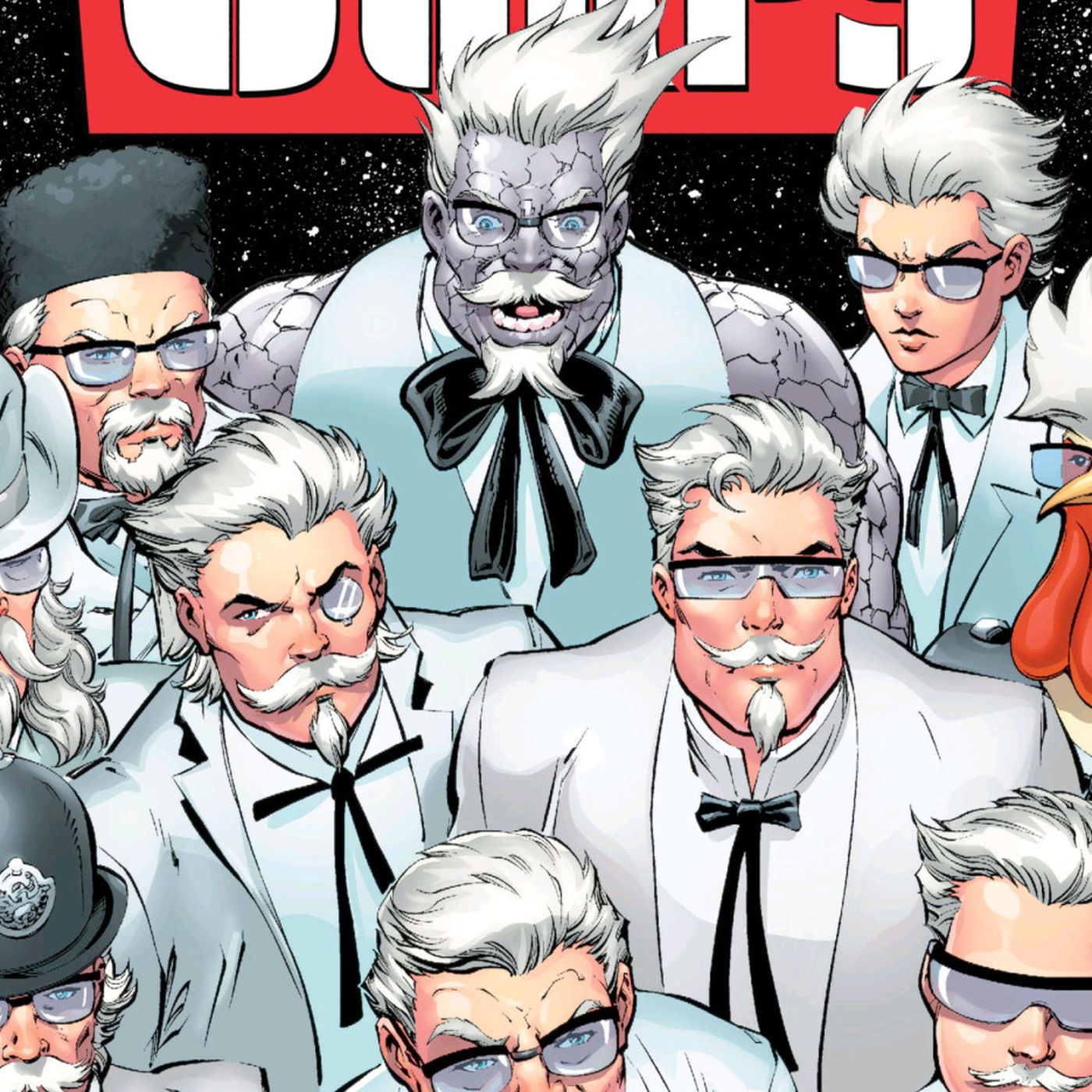Colonel Sanders Is the Star of DC\'s Latest Comic Book - Eater