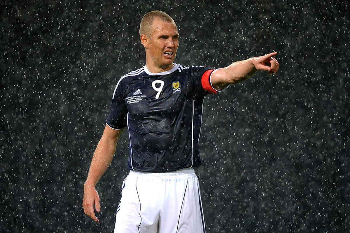 Kenny Miller, as envisaged in the mind of Ally McCoist.