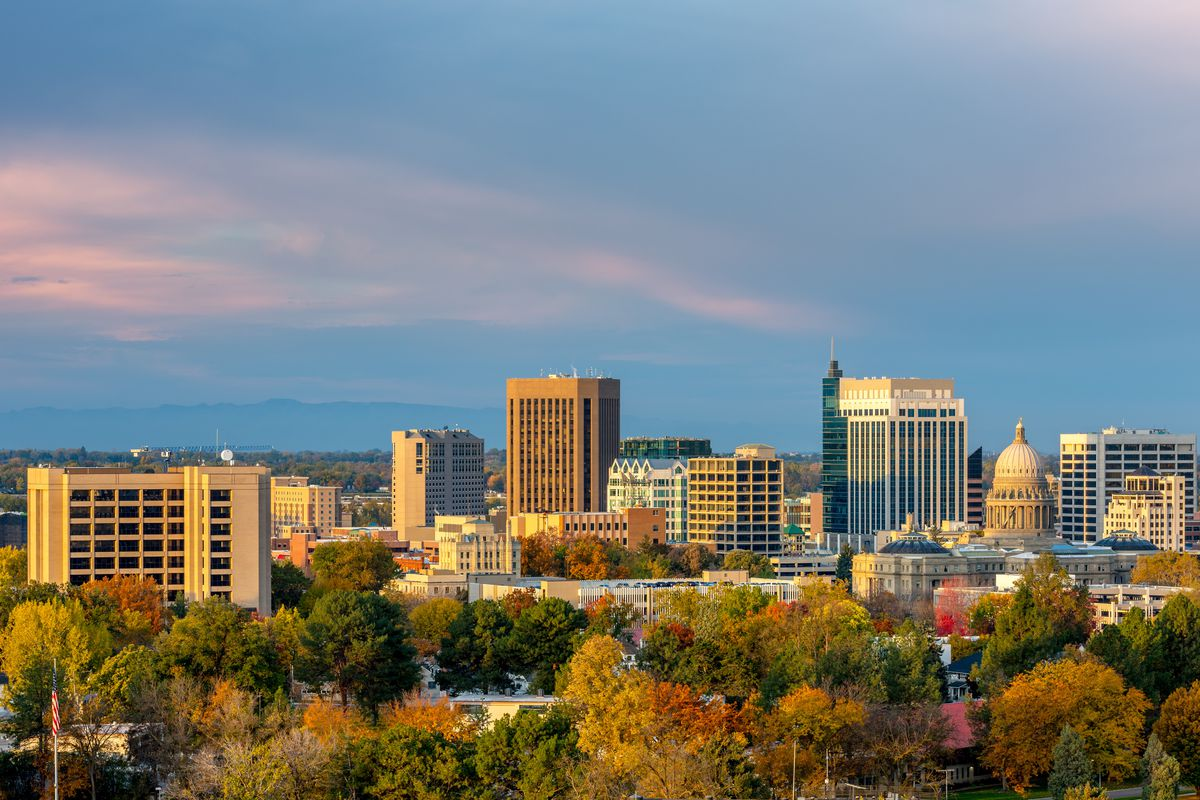 Many people are moving from California to Boise.