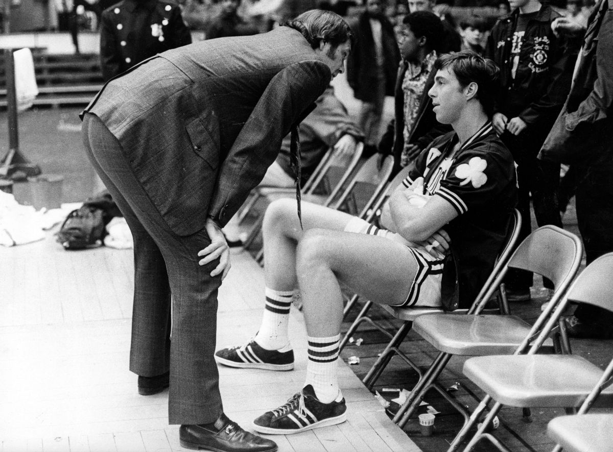 Boston Celtics Tom Heinsohn And Dave Cowens