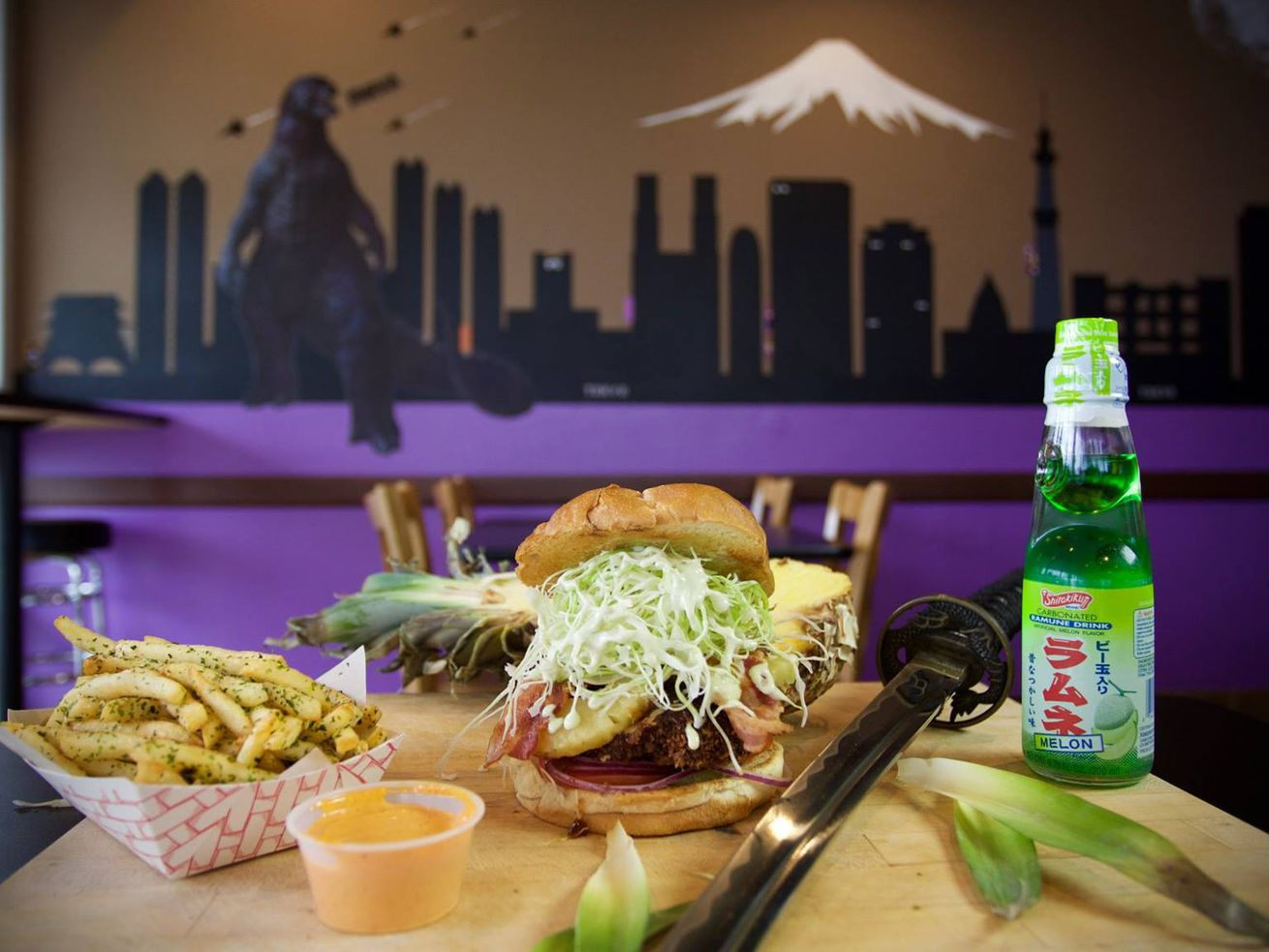 Katsu Burger is sending its deep-fried patties to Federal Way.