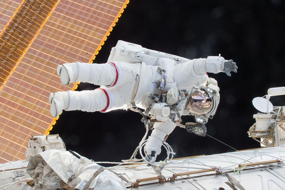 Astronauts' spinal muscles shrink and weaken after long