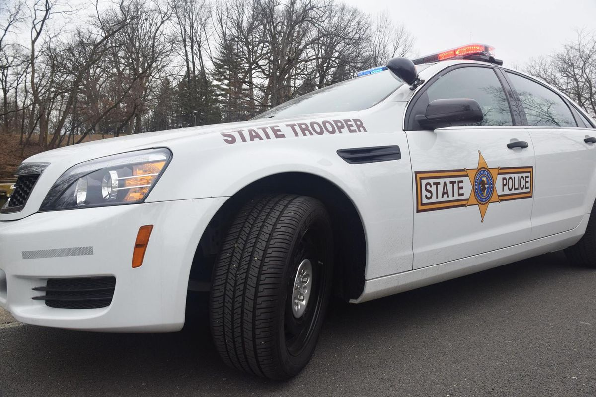 Illinois State Police responded to a shooting Feb. 22, 2021 on the Dan Ryan Expressway.