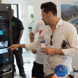 Guests get firsthand experience with technology of Home of The Future.