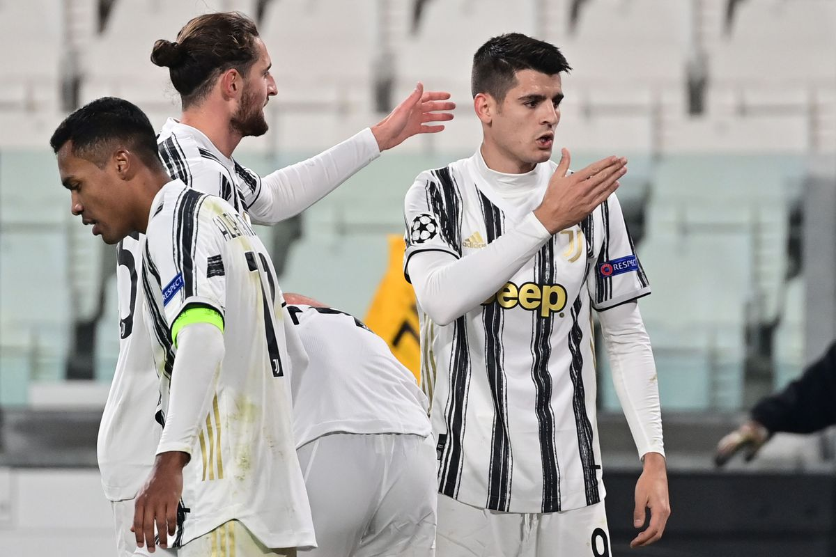 Morata Is The Hero In Stoppages As Juve Books A Spot In The Ucl Knockouts Black White Read All Over