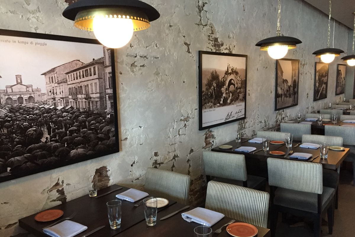 New Italian Restaurant San Lorenzo Replaces Now Defunct Shaw Eatery Thally Lisa Amore