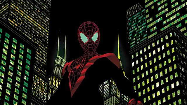 The cover of <em>Miles Morales: Spider-Man</em>.