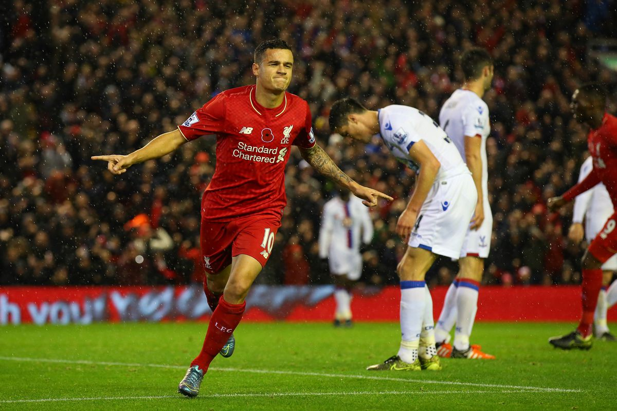 Can Coutinho and Liverpool continue form to take all 3pts at the Stadium of Light?