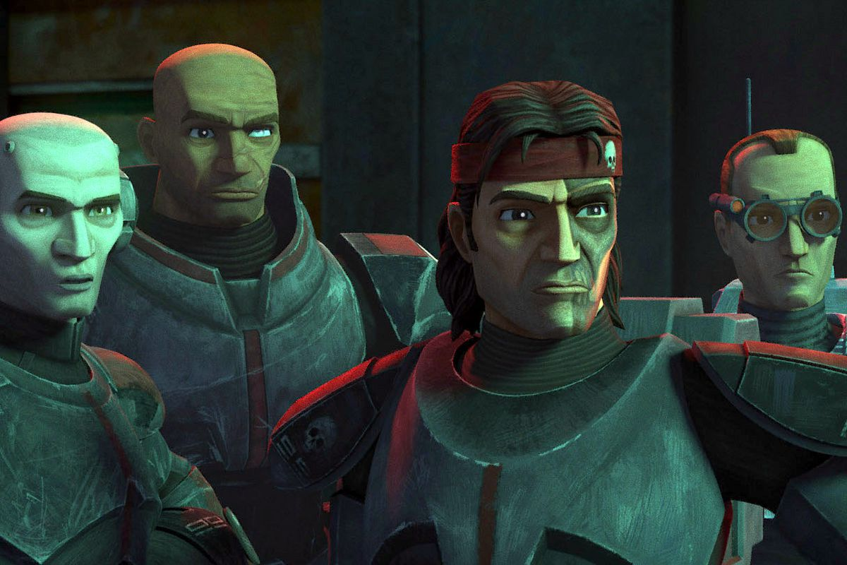 Characters from Star Wars: The Bad Batch