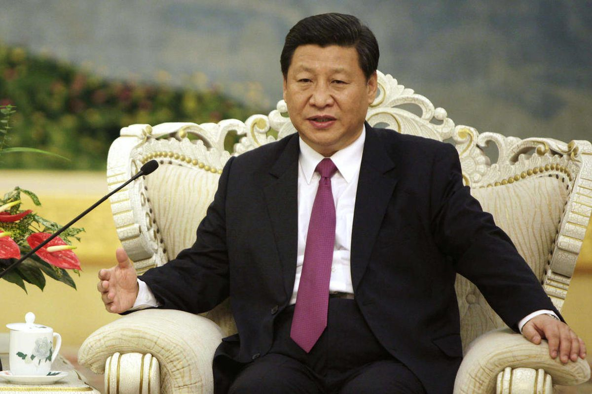 FILE - In this Aug. 29, 2012 file photo, Chinese Vice President Xi Jinping meets with Egypt's President Mohammed Morsi at the Great Hall of the People in Beijing. New rumors about health problems facing China's leader-in-waiting Xi Jinping swirled Thursda