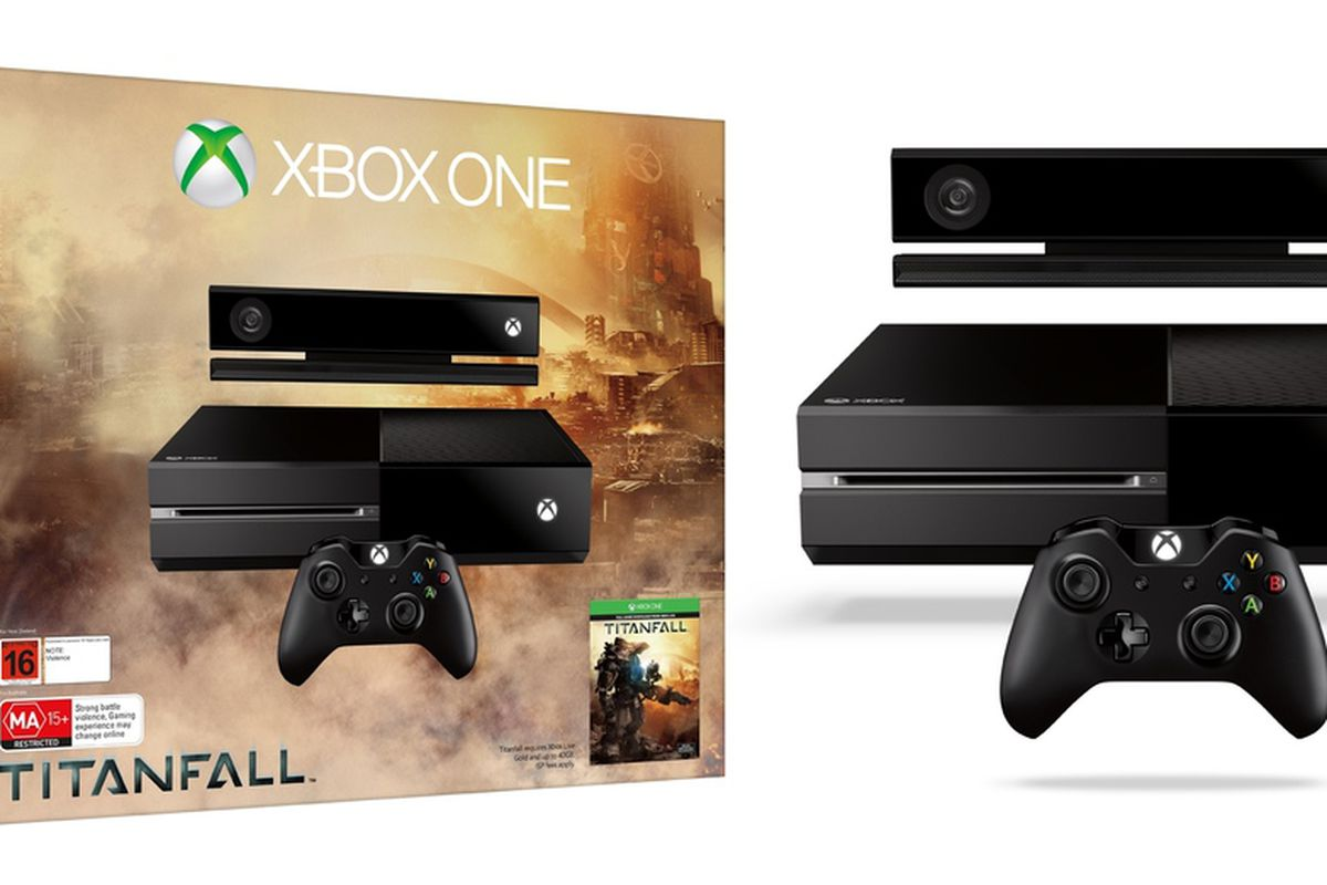 Xbox One Titanfall Edition Console Titanfall Xbox One con...