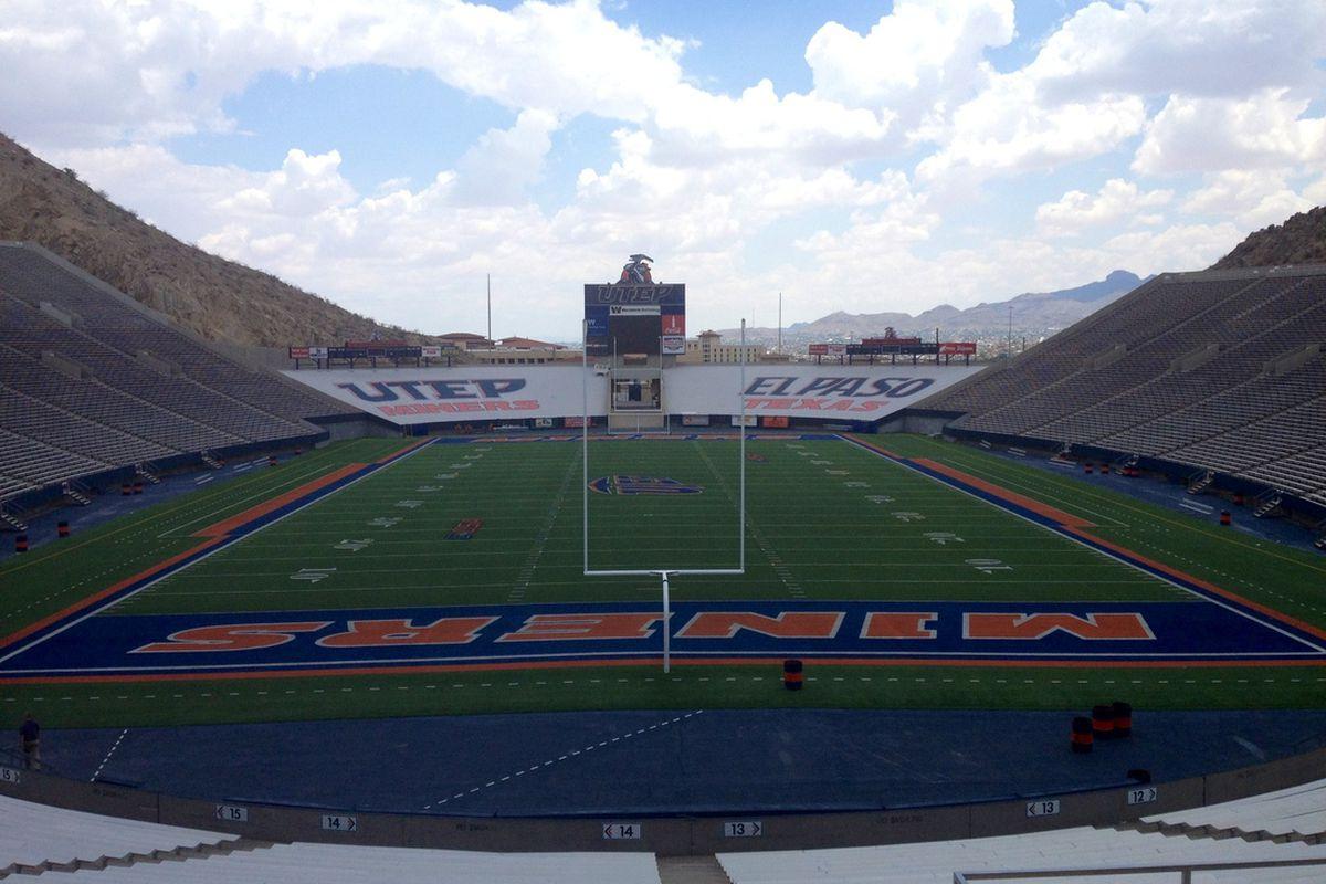 Sun Bowl Stadium - El Paso, TX