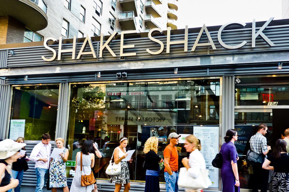 Shake Shack at 86th and Lexington
