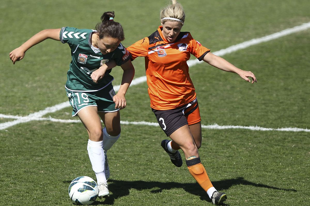 Chapman (right) is an Australian international and a member of the Strikers.
