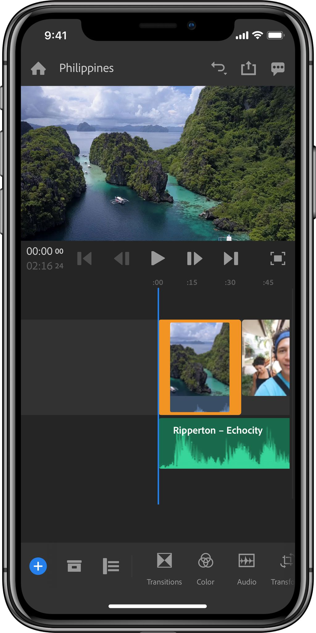 Adobe launches Premiere Rush CC, a video-editing app made