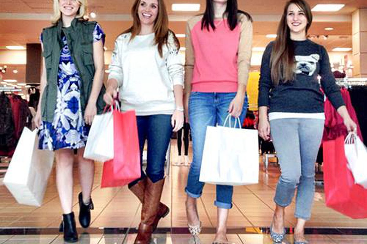 These ladies seemed to like their J.C. Penney experience. Image via Facebook/J.C. Penney