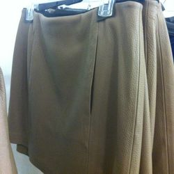 Leather skirts, $150