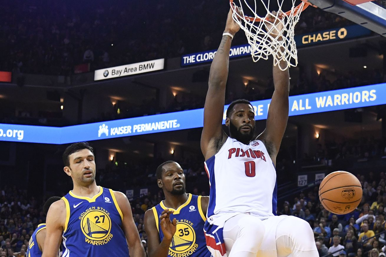 Pistons vs. Warriors final score: Detroit stuns the champs in their own house, 115-107