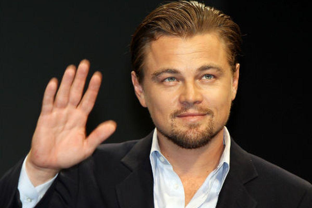 Photo of Leonardo DiCaprio via Getty Images