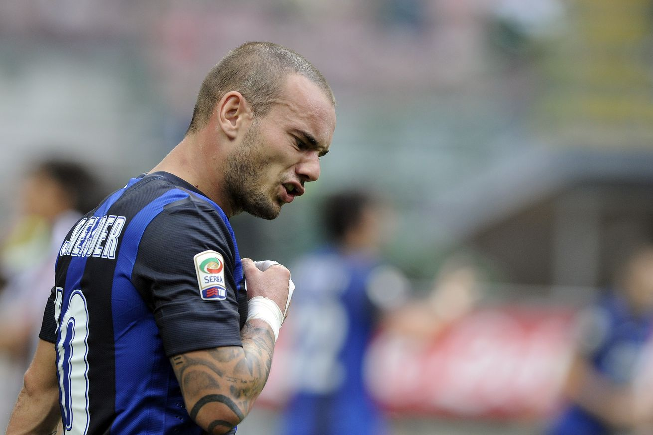 Wake up with all 22 of Wesley Sneijder?s Inter goals