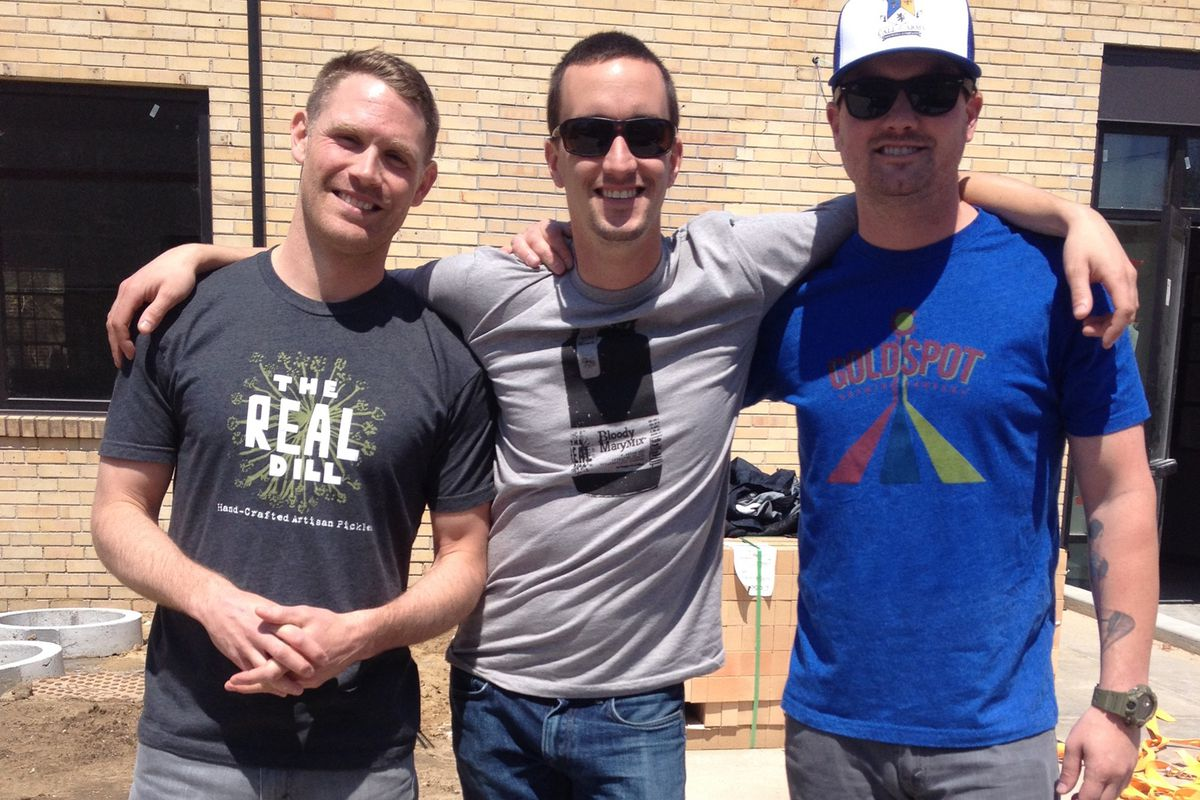 Jesse Brookstein, Jon Cross, and Chris Bell