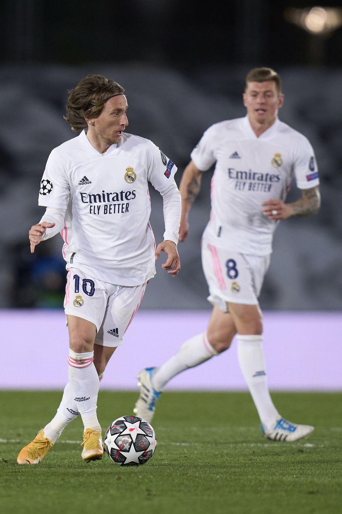 Real Madrid v Atalanta - UEFA Champions League Round Of 16 Leg Two