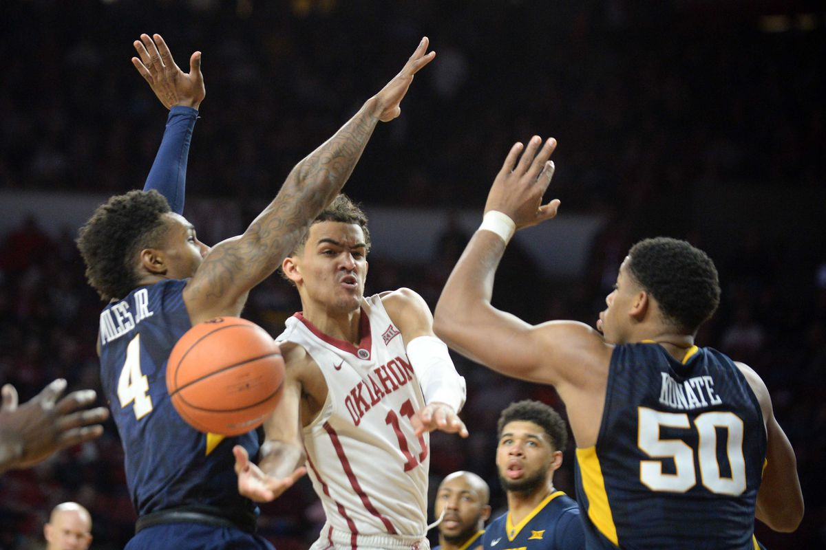 Mountaineers survive Sooners despite cold-shooting second half