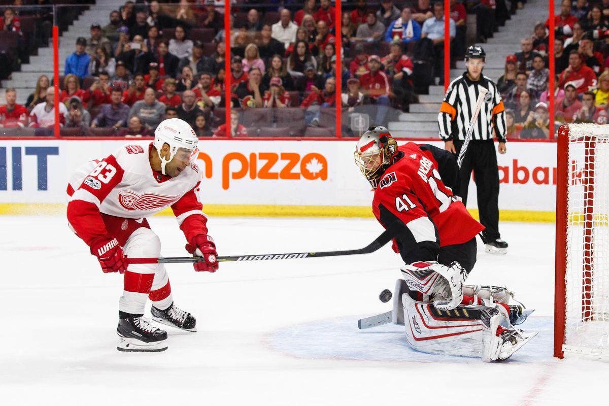 Detroit Red Wings v Ottawa Senators
