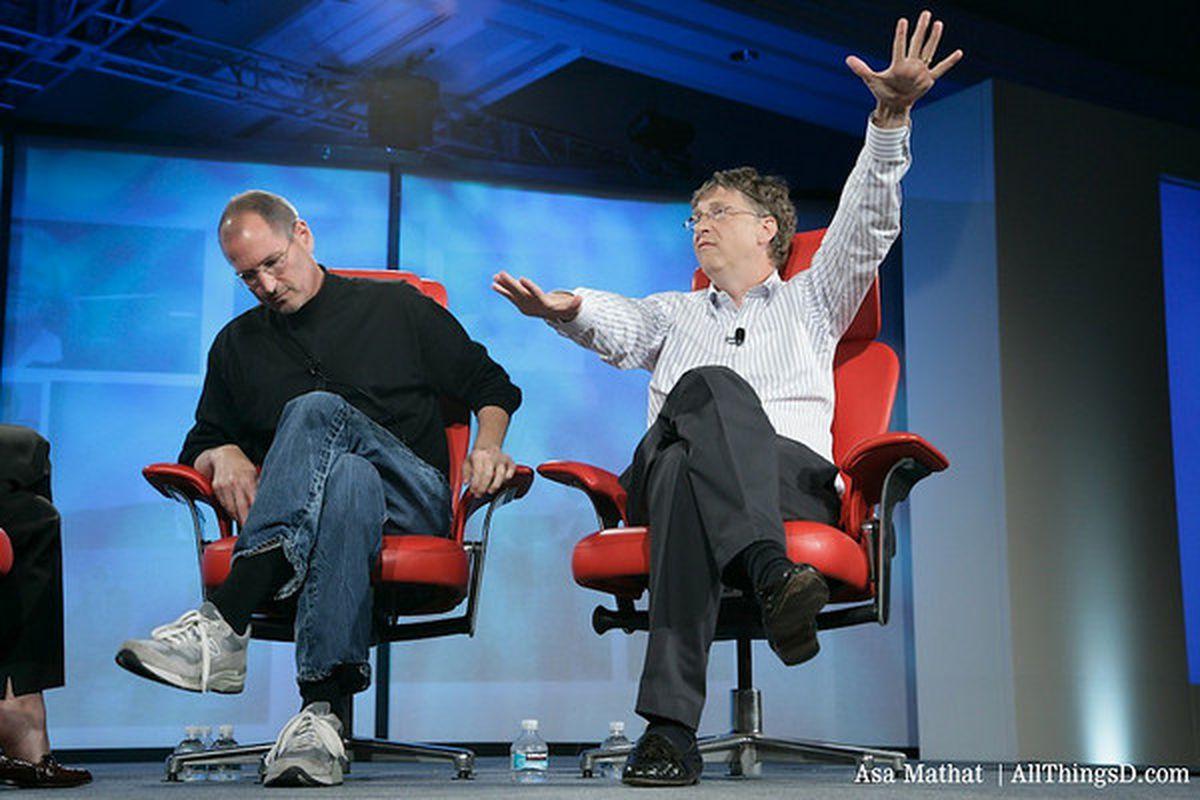 Jobs and Gates at D5