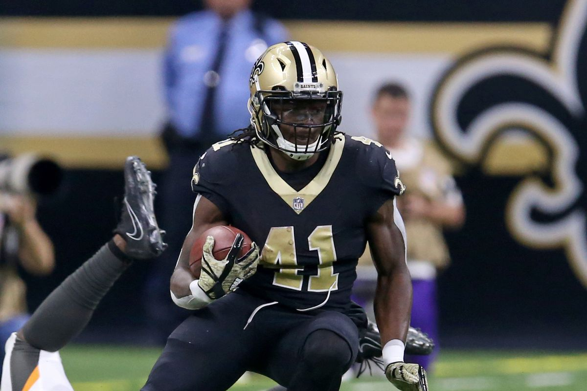 best website 75bbc dc419 Scouting the New Orleans Saints: running back Alvin Kamara ...