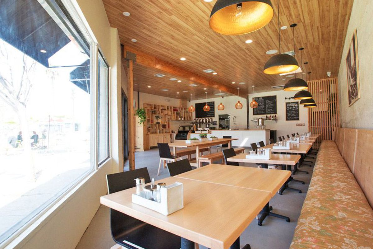 """<a href=""""http://la.eater.com/archives/2014/03/19/pine_crane_a_serene_taiwanese_cafe_in_silver_lake.php"""">Pine &amp; Crane, Los Angeles</a>."""