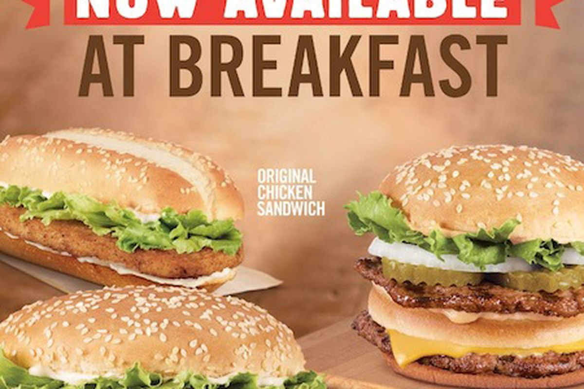 Burger King Is Taking Feeble Steps Onto The Breakfast Wars Battlefield Theyll Soon Serve Burgers For BurgerBusiness Reports
