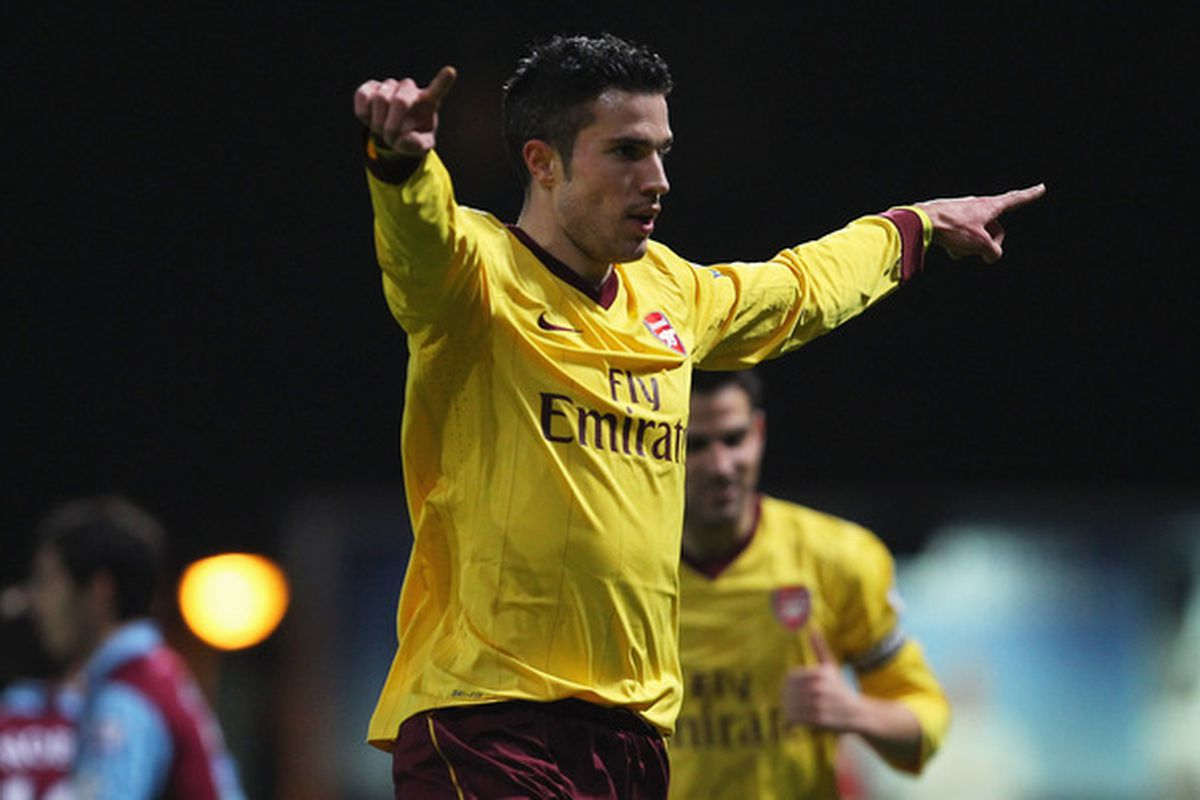 Before Arsenal made him, nobody knew who this guy was