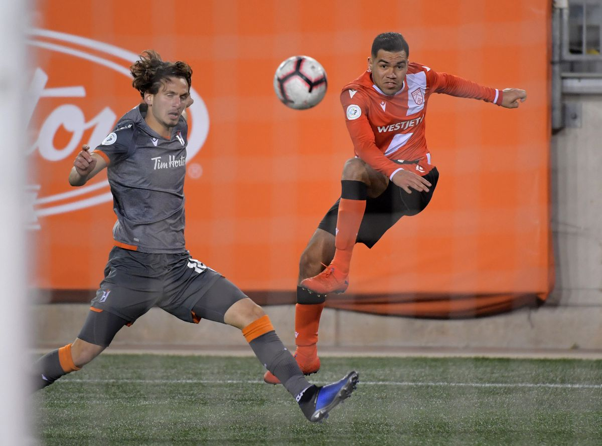 CPL: Canadian Premier League Soccer-Cavalry FC at Forge FC