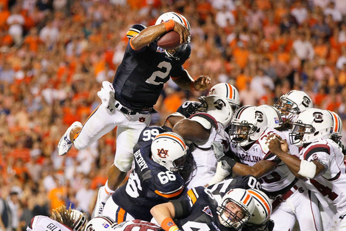 While they played each other, there are also other comparisons to be drawn between Auburn and South Carolina.
