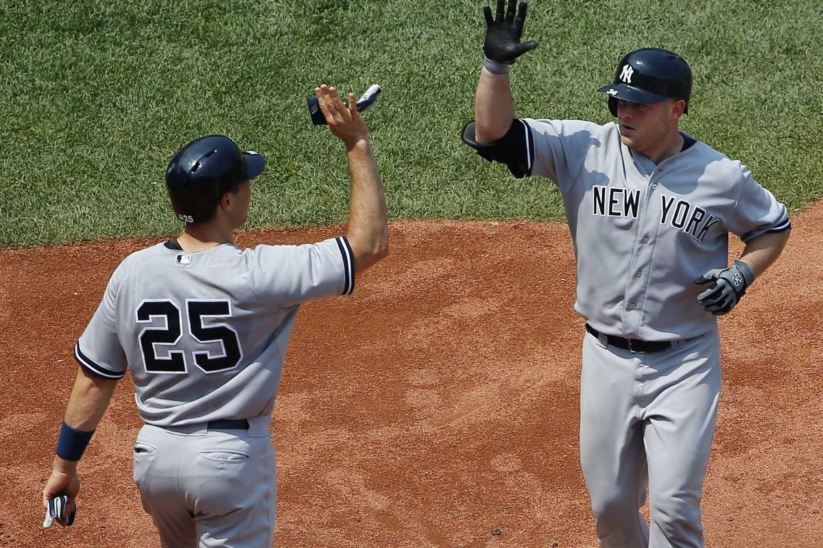 Props to Brian McCann who also hit a two-run home run today