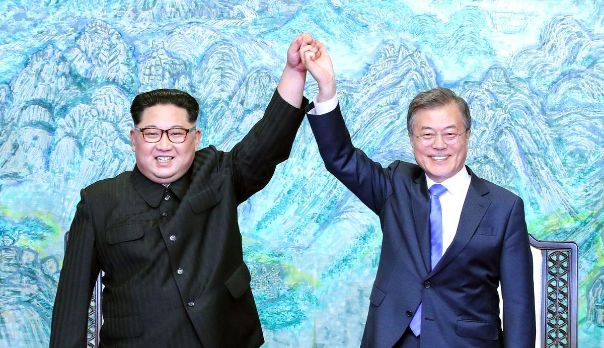 north korea, south korea, kim jong un, moon jae in