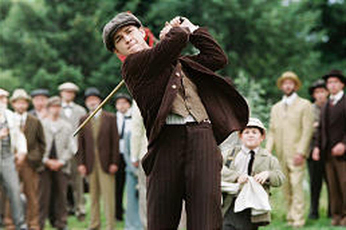 """Shia LaBeouf as an amateur golfer in """"The Greatest Game Ever Played."""""""